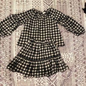 Toddler girls 2 piece matching gap outfit